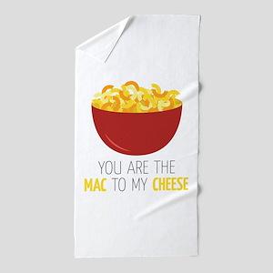 Mac To Cheese Beach Towel