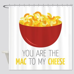 Mac To Cheese Shower Curtain