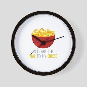 Mac To Cheese Wall Clock