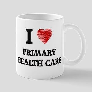 I Love Primary Health Care Mugs