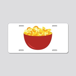 Mac and Cheese Aluminum License Plate