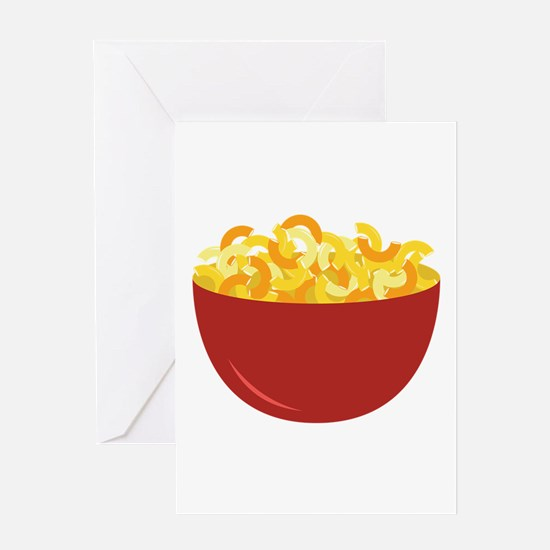 Mac and Cheese Greeting Cards