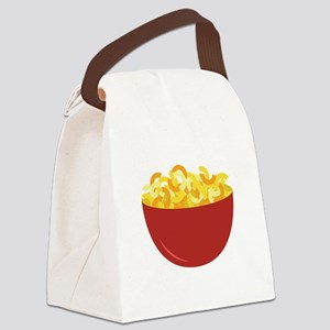 Mac and Cheese Canvas Lunch Bag