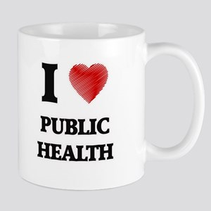 I Love Public Health Mugs