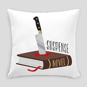 Suspense Novel Everyday Pillow