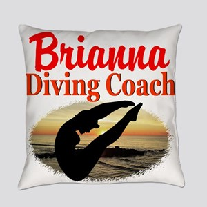 DIVING COACH Everyday Pillow
