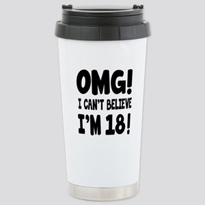 Omg I Can't Believe I A Stainless Steel Travel Mug