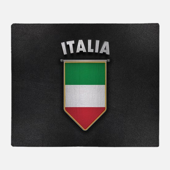 Italy Pennant with high quality leat Throw Blanket
