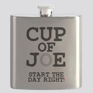 CUP OF JOE - START THE DAY RIGHT! Flask
