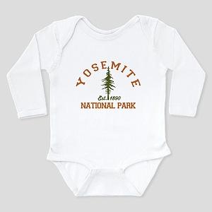 Yosemite. Long Sleeve Infant Bodysuit
