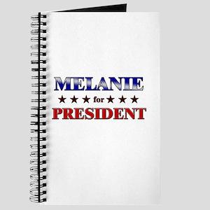 MELANIE for president Journal