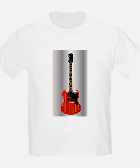 Guitar With Blues Scale T-Shirt