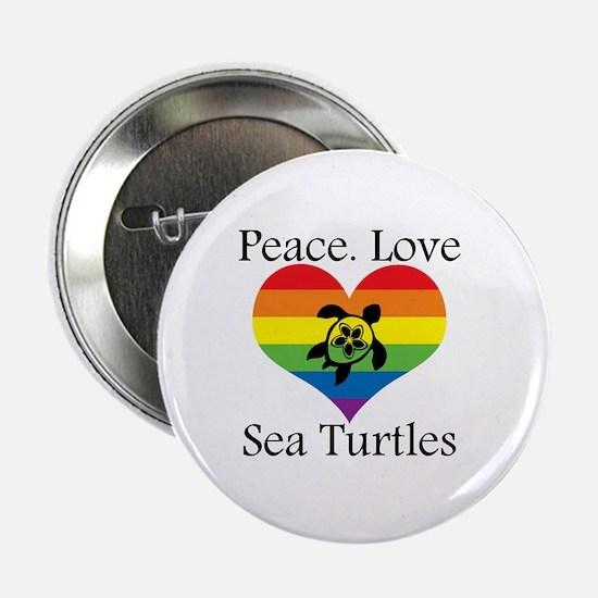 "Cute Hawaii turtles 2.25"" Button"