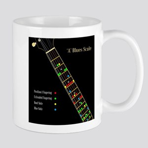 Guitar Blues Scale In A Mugs