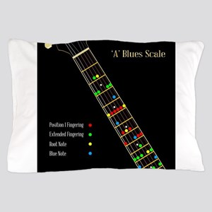 Guitar Blues Scale In A Pillow Case