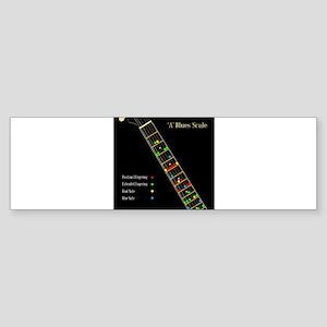 Guitar Blues Scale In A Bumper Sticker