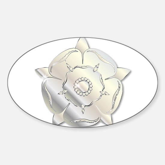 War Of The Roses Metal Icon Decal