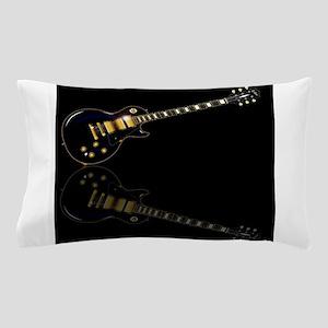 Black Beauty Electric Guitar Pillow Case