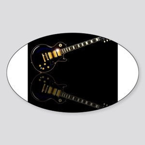Black Beauty Electric Guitar Sticker