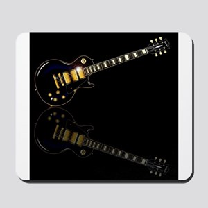 Black Beauty Electric Guitar Mousepad
