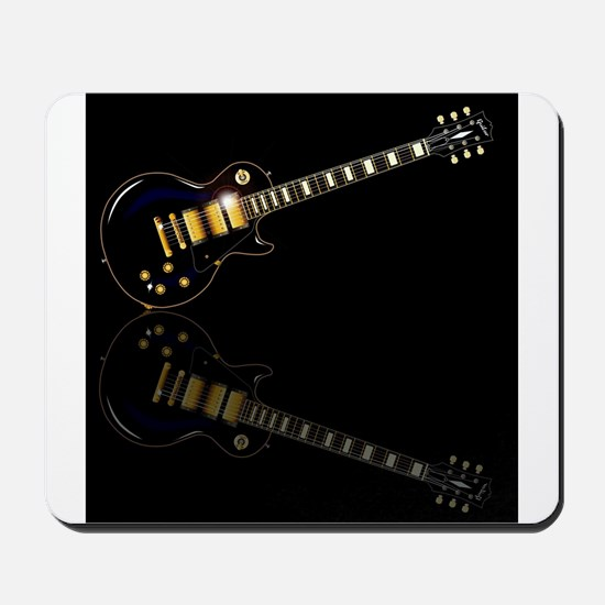 Black Beauty Electric Guitar Mousepad
