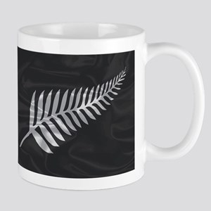 Silk Flag Of New Zealand Silver Fern Mugs