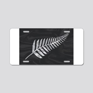 Silk Flag Of New Zealand Si Aluminum License Plate