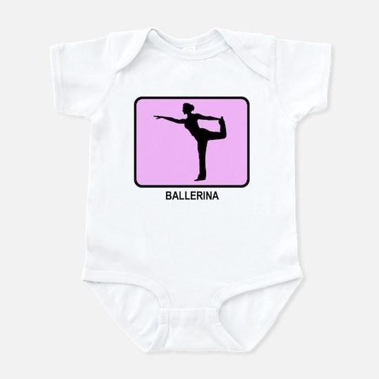Ballerina (pink) Infant Bodysuit