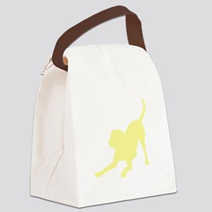 Lab 1C Yellow Canvas Lunch Bag