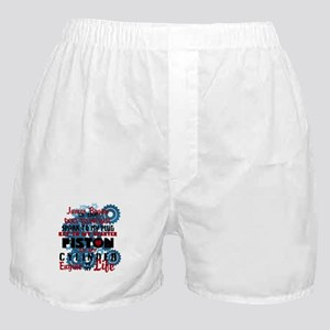 Personalize, I love my mechanic Boxer Shorts