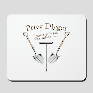 Privy Digger Mousepad