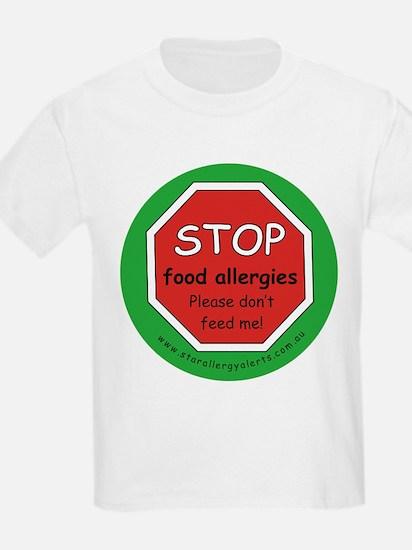 STOP food allergies T-Shirt