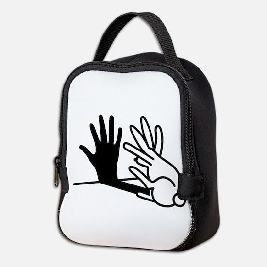 Cute Animals Neoprene Lunch Bag