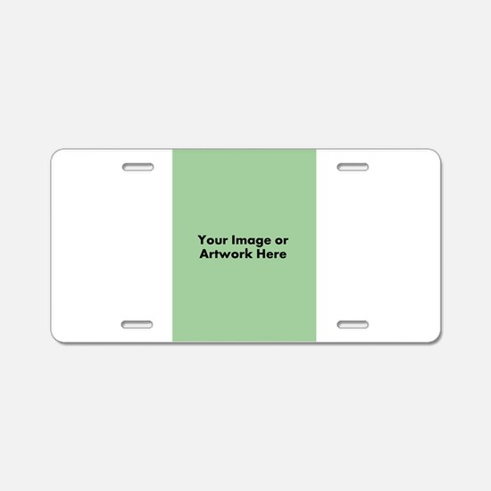 Your Image or Artwork Aluminum License Plate