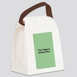 Your Image or Artwork Canvas Lunch Bag