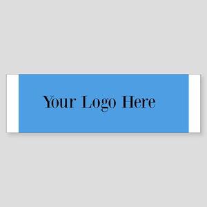 Your Logo Here (Wide) Bumper Sticker