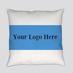 Your Logo Here (Wide) Everyday Pillow