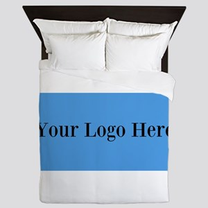 Your Logo Here (Wide) Queen Duvet