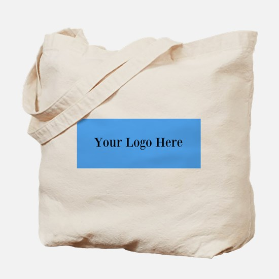 Your Logo Here (Wide) Tote Bag