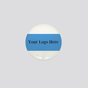 Your Logo Here (Wide) Mini Button