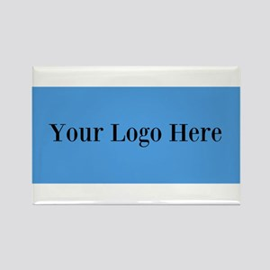 Your Logo Here (Wide) Magnets