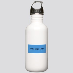Your Logo Here (Wide) Water Bottle