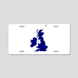 U.K. and Southern Ireland S Aluminum License Plate