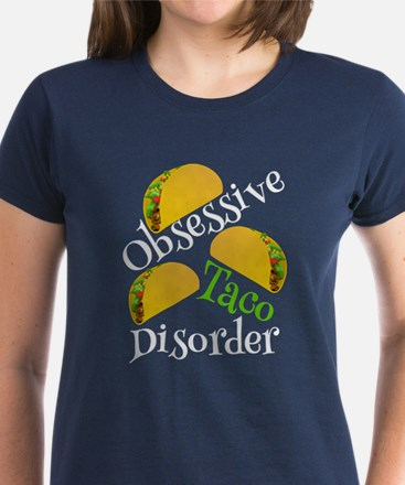 Funny Taco Women's Dark T-Shirt