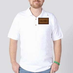 Welcome Coconut Doormat Golf Shirt