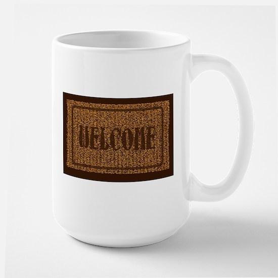 Welcome Coconut Doormat Mugs
