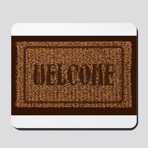 Welcome Coconut Doormat Mousepad