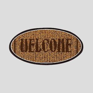 Welcome Coconut Doormat Patch