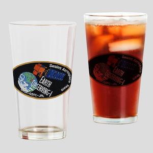 Swales Team Logo Drinking Glass
