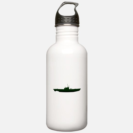 Submarine Silhouette O Water Bottle